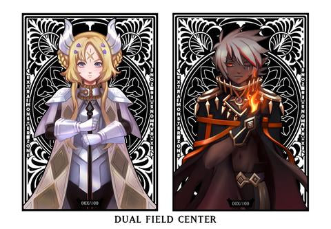 (Bundle Exclusive) Limited Metal Dual-Sided Dogmatika Ecclesia and Albaz Field Center in Silver