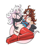 (In stock on Oct 2nd 2020) Limited Android 21 Split Personality Patch (7 inch)