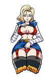 Limited Android 18 Velcro Patch (6 inch)