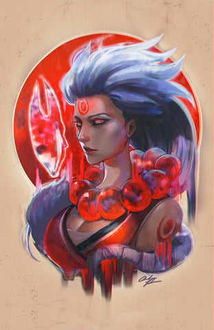 Blood Moon Diana Poster (11x17)