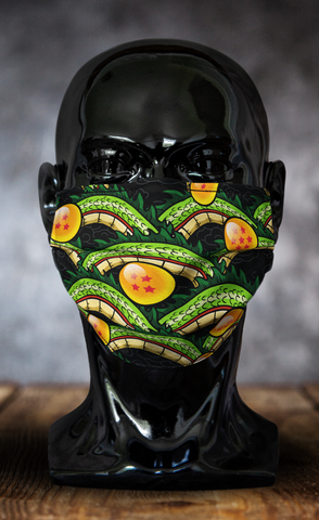 Dark Shenron Dragon Ball Z Face Mask