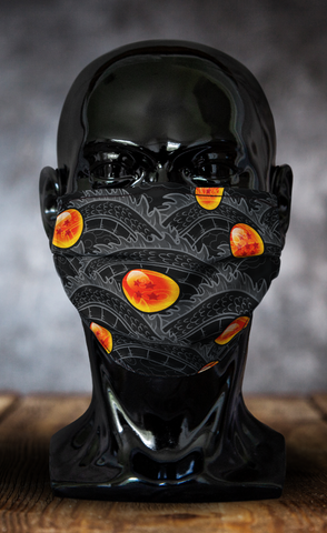 Inverted Shenron Dragon Ball Z Face Mask