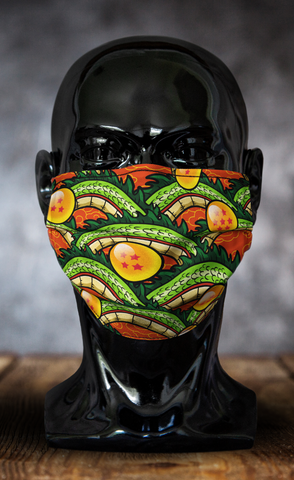 Classic Shenron Dragon Ball Z Face Mask