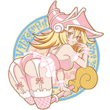 Limited Dark Magician Girl Velcro Patch (6 inch)