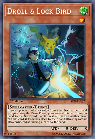 Droll & Lock as Ash & Pikachu Orica (Super Rare)