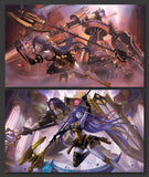 Limited Orcust Playmats: Galatea&Longirsu / Galatea&Dingirsu