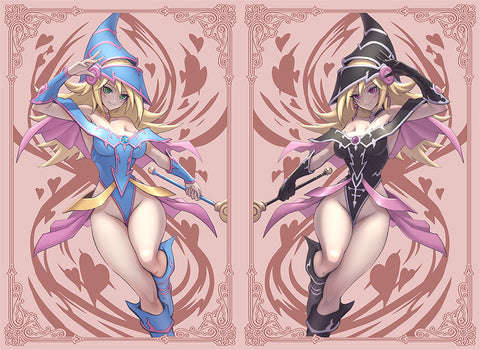 *PRE-ORDER* Set of 2 Packs Limited Dark Magician Girl and Magi Sleeves