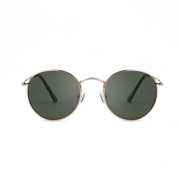 Hello Sunglasses - Gold Green