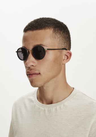 Macau Sunglasses - Gold/Black