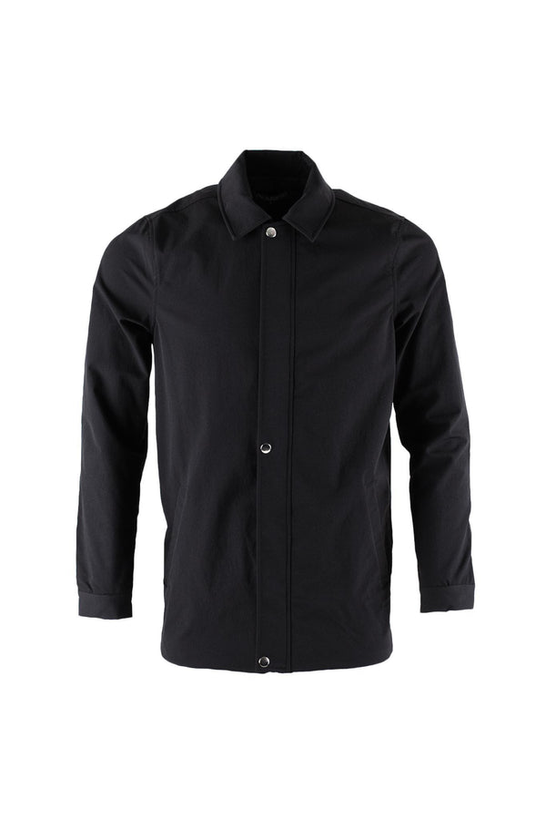 Amsterdam Trench Jacket - Black