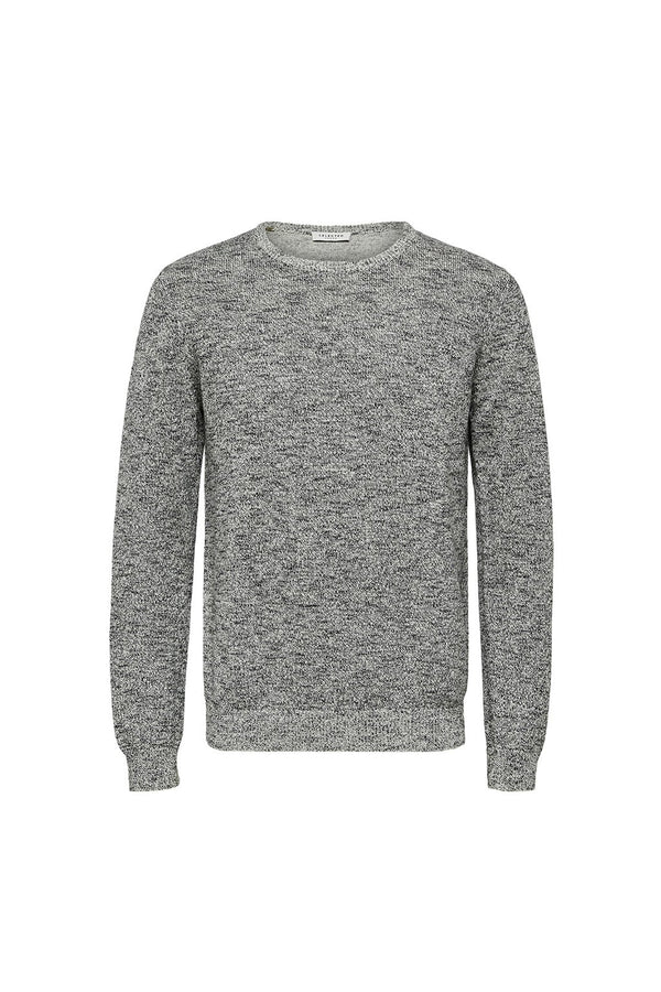 Andrew Camp Crew Neck - Bone White