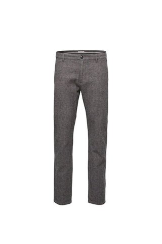 Arval Houndstooth Pants - Grey