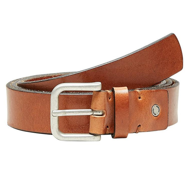 Basic Belt - Læder - Cognac