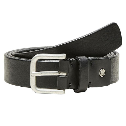 Basic Belt - Læder - Black