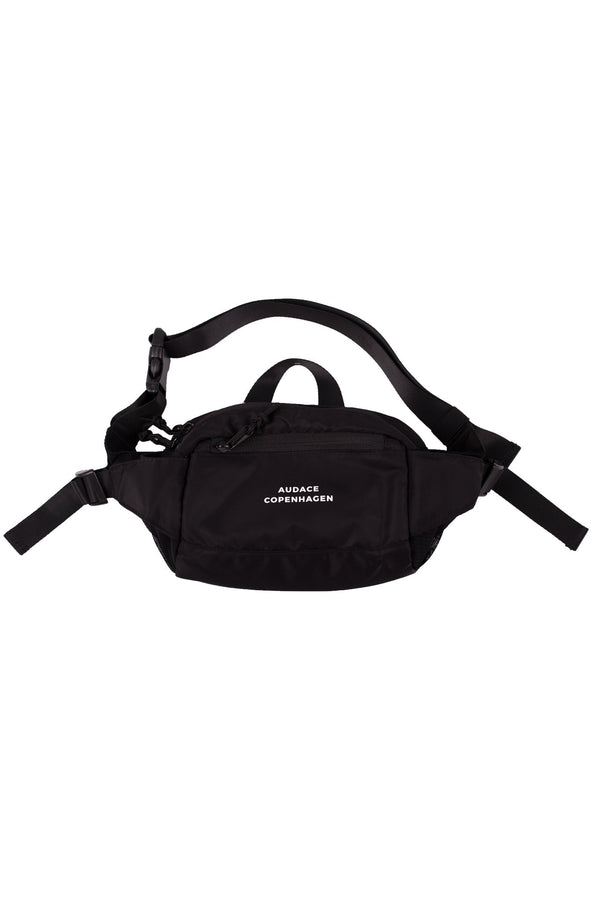 Black Carnival - Waistbag - Black w/ White Print