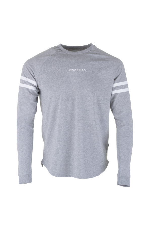 Greak Sign Tee - Grey