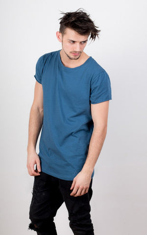 Louvel T-Shirt - Charcoal Blue