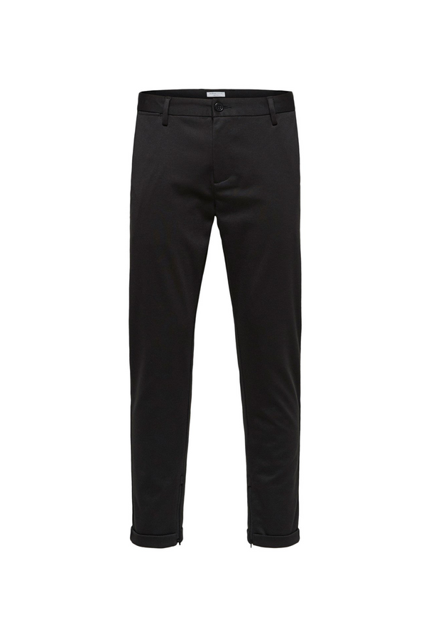 Alex Structure Zip Pants - Black