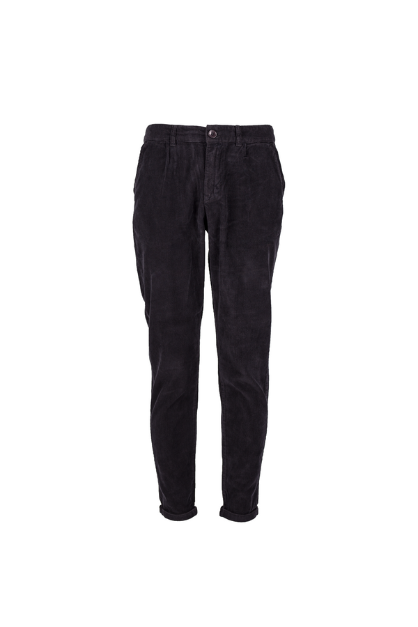 Klaus - Cord Pants - Black