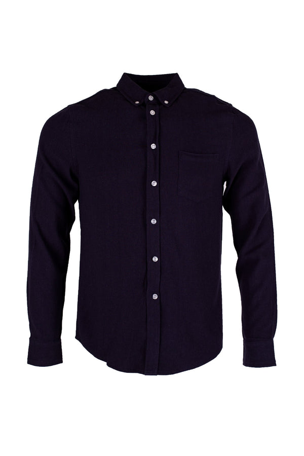 Lagos Shirt - Navy Blue