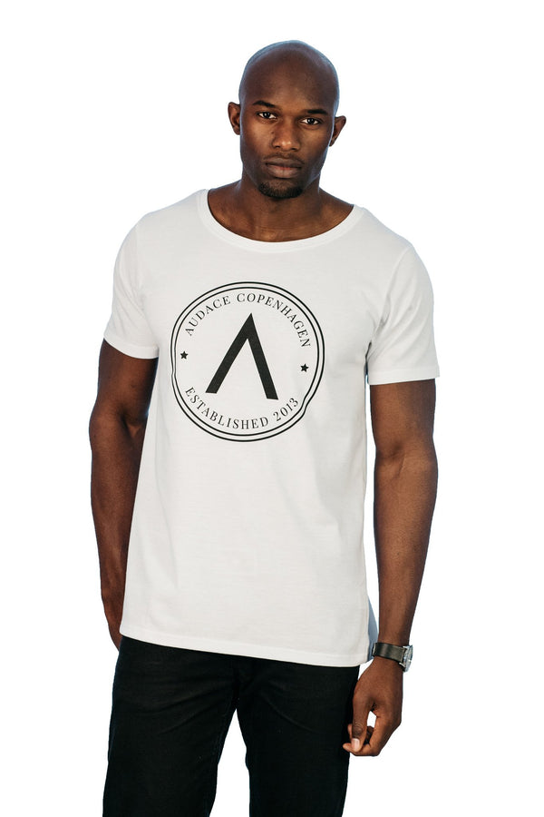 A Badge T-Shirt - White
