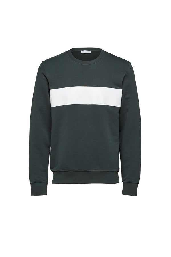 Oliver Crew Neck - Deep Forest