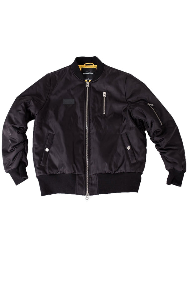 Seoul Bomber Jacket - Black