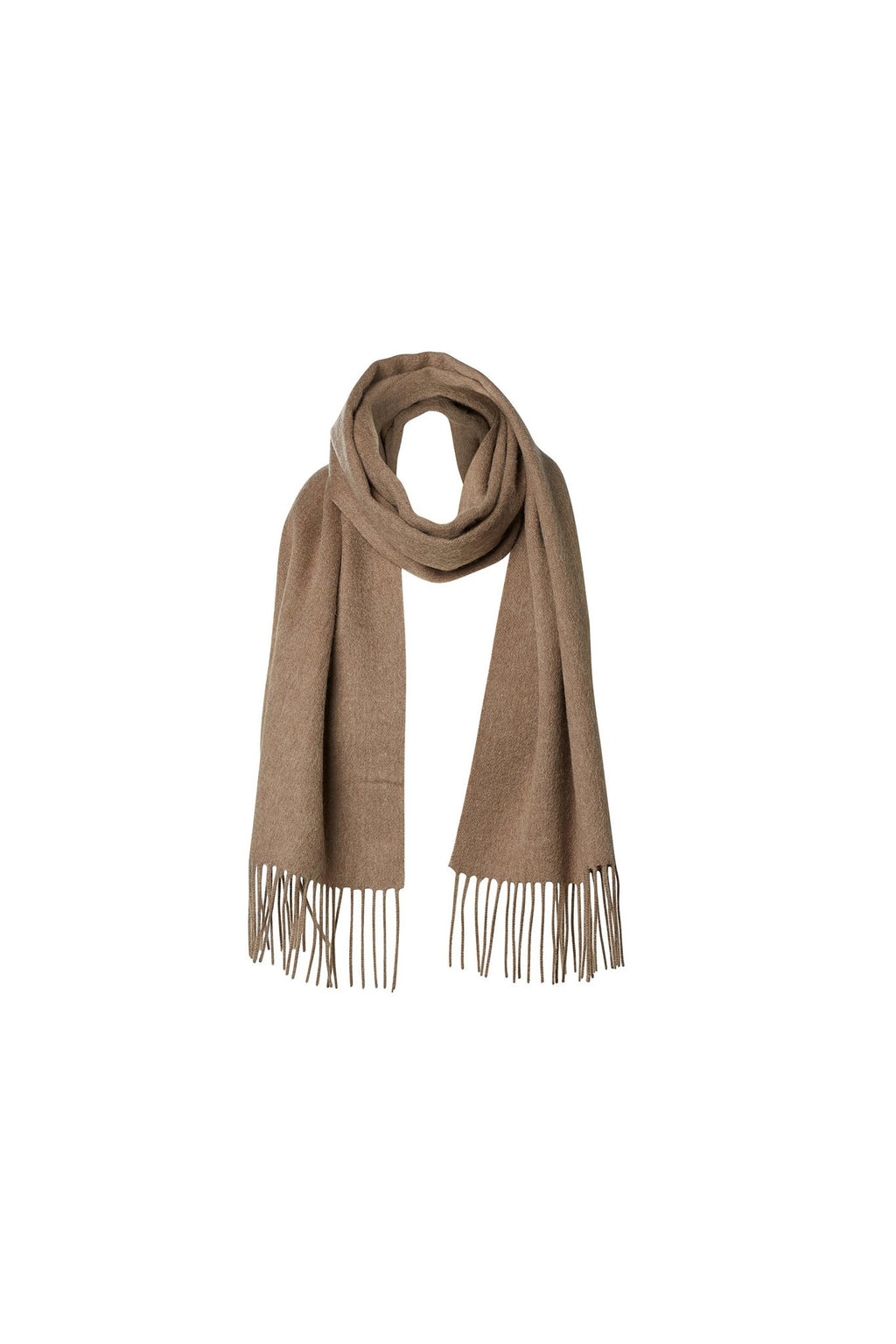 Tope Wool Scarf - Camel
