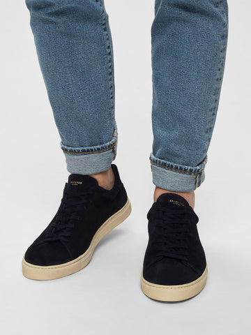 David Sneaker - Suede - Dark Navy