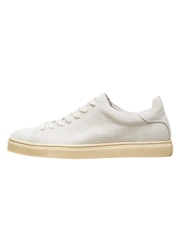 David Sneaker - Suede - White