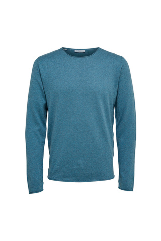 Dome Crew Neck - Blue Mirage