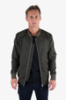 Hong Kong Bomber Jacket - Army Green