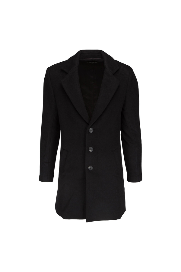 London Wool Coat - Black