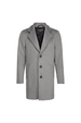 London Wool Coat - Grey