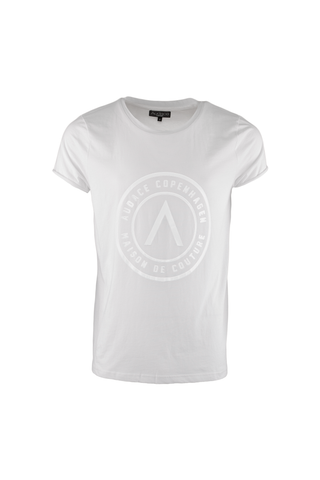 Maison De Couture T-Shirt - White with White Print