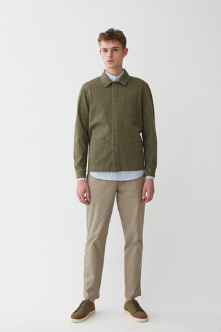 Napoli Work Shirt - Moss