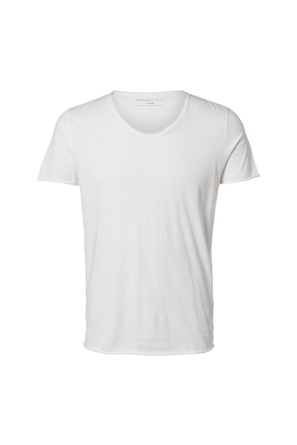 New Merce Tee - O-Neck - Bright White