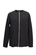 Nygaard Zip Cardigan - Black