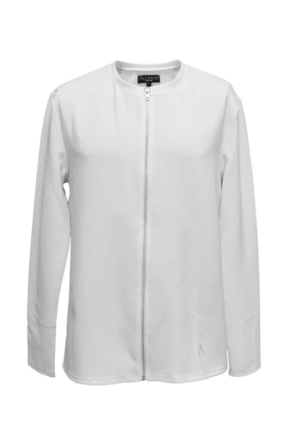 Nygaard Zip Cardigan – White