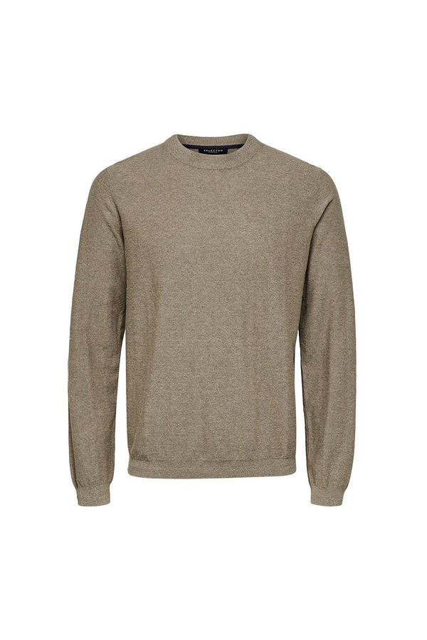 Page Cashmere Camp Crew Neck - Sand