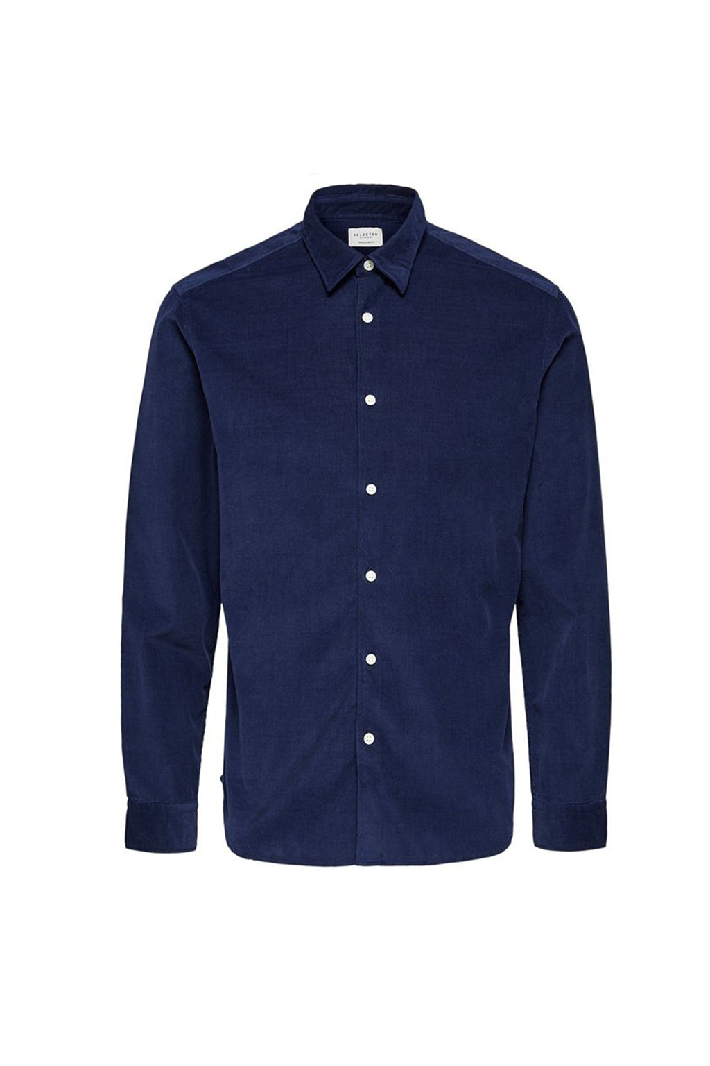 Rayson-Cord Shirt - Dark Blue