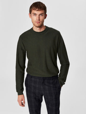 Page Cashmere Camp Crew Neck - Rosin
