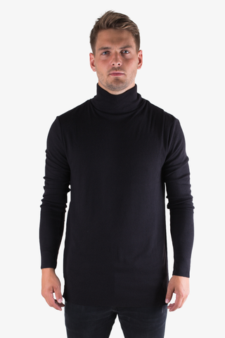 Steve Turtleneck - Black