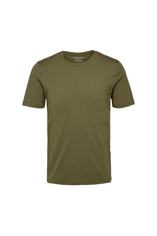 The Perfect Tee - O-Neck - Dusty Olive