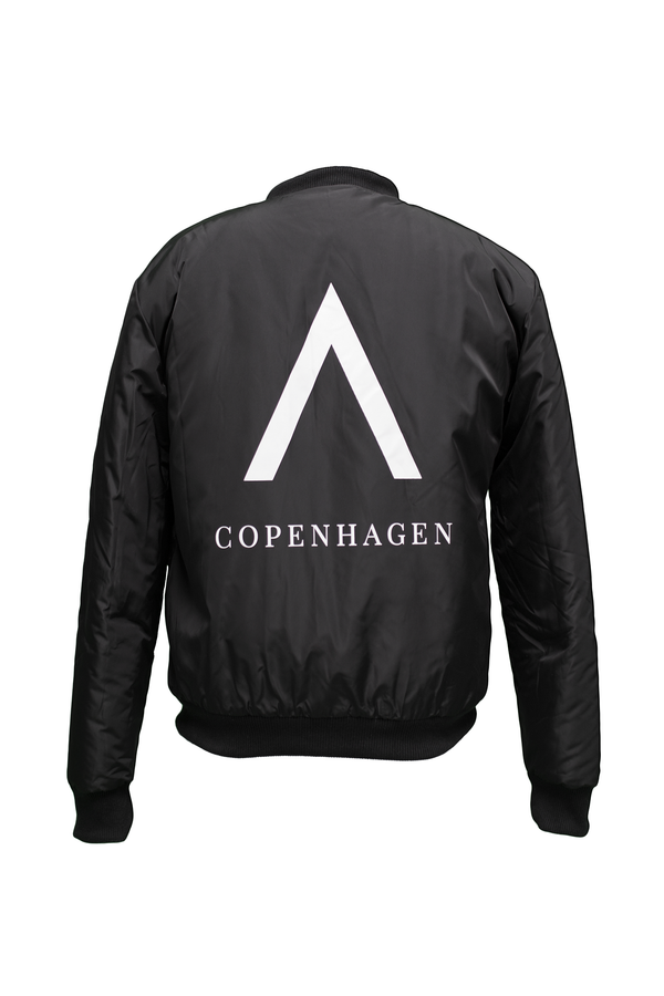 Tokyo Bomber Jacket  - Special Winter Edition - A Copenhagen -  White Print