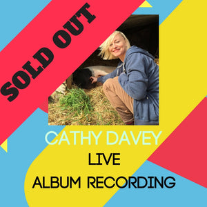 Cathy Davey 'Bare Bones' Live Album Recording SOLD OUT!