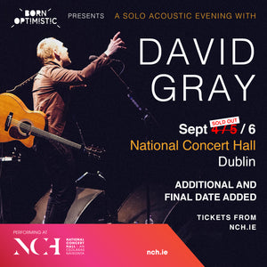 David Gray, National Concert Hall, Dublin, Sept 2017