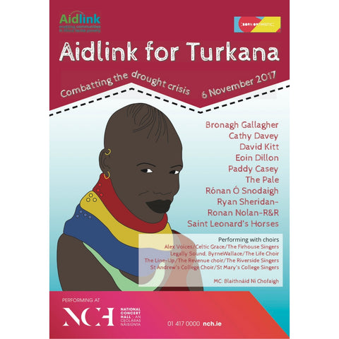 Aidlink for Turkana - National Concert Hall - Nov 6th 2017