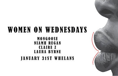 WOW at Whelans Jan 31st - Standard Ticket