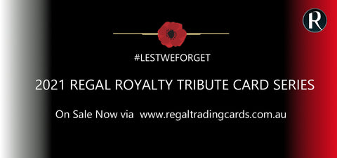 2021 Tribute Regal Royalty Limited-Edition Trading Card Release Part 1